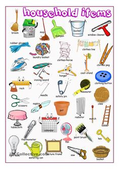 Household Items Picture Dictionary- We offer free classes on the Eastern Shore of MD to help you earn your GED - H. Diploma or Learn English (ESL) . For GED classes contact Danielle Thomas dthomas@ For ESL classes contact Karen Luceti - 4 English Fun, English Study, English Class, English Words, English Lessons, English Grammar, Learn English, French Lessons, English Language Learning