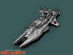 Command & Conquer: Red Alert 3 Concept Art