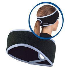 TrailHeads Ponytail Headband - http://www.exercisejoy.com/trailheads-ponytail-headband/fitness/