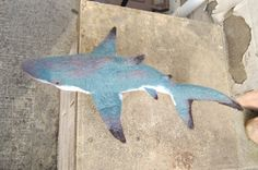 SALE Needle felted shark sculpture by WoollyWildThings on Etsy