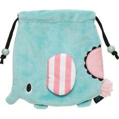 Sentimental Circus elephant plush pouch bento bag