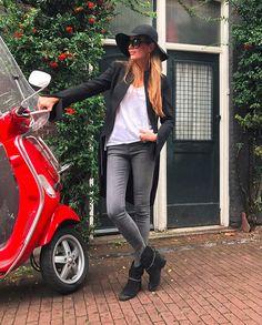 Hanna Lis spędza weekend w Amsterdamie (FOTO)