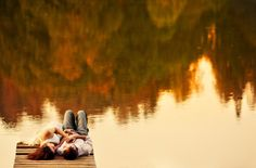 i really want to do an engagement session on a lake/dock someday. @Emily Schoenfeld Hoey? haha.