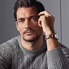 David Gandy for Marks & Spencer Fall/Winter 2014 Collection hair by Larry King @marksandspencer @King_larryking #styleicon #menstyle #britishstyle #britishfashion #mensfashion #DavidGandy #DavidJGandyEspaña
