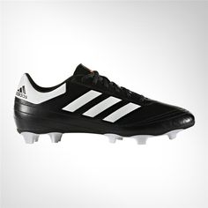 huge discount e7643 99f83 Adidas Men s Goletto 6 Firm Ground Soccer Shoes (Core Black Footwear  White Solar Red, Size - Adult Soccer Shoes at Academy Sports
