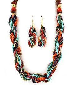 Mikko Interlaced Necklace Set