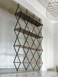 Repisa Romboidale / Pietro Russo |  inspiration de certains détails pour etagère cuisine