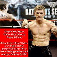 keepinitrealsports.com Ricky Hatton, Sports Birthday, Keep It Real, 20 Years Old, Boxer, Birthdays, Stay True, Anniversaries, Birthday