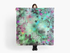 """""""Green Butterfly Abstract Painting"""" Scarves by jaggerstudios Iphone Wallet, Iphone Cases, Green Butterfly, Chiffon Tops, Scarves, Throw Pillows, Abstract, Poster, Painting"""