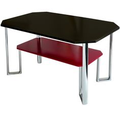Art Deco Modernist Table In the Manner of Jules Bouy, U.S., ca. 1930's.