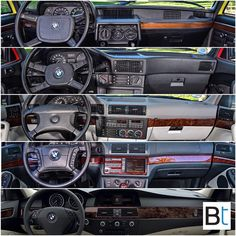 The evolution of The BMW 5 series interior. Starting with the first 5 series the E12 followed by the E28, E34, E39 and the E60. Which… E28 Bmw, Bmw 520i, E46 M3, Bmw Cars, Bmw Interior, Bmw Classic, Bmw 5 Series, Amazing Cars, Cars And Motorcycles
