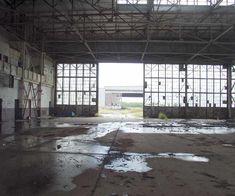Abandon airfield hangar...Corpus Christi Tx