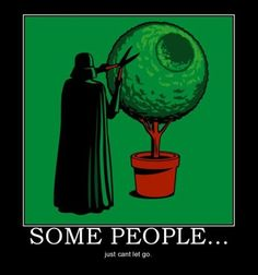 Landscaping by Vader. This is soooo my hubby!