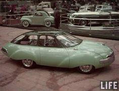 1948 Panhard Dynavia- prototype