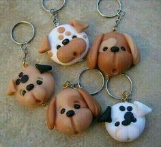 Llaveros perritos