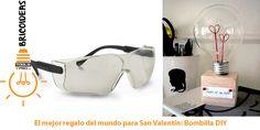 Pónte gafas de seguridad y crea tu proyecto DIY o de bricolaje para San Valentín