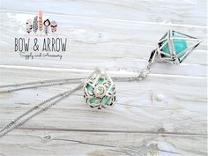 TWO Bola Necklace Harmony Ball Mexican Bola Necklace Baby Shower Gift New Mom Necklace 20 Weeks Pregnancy Angel Caller