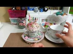 ▶ Altered Tea Cup Pin Cushion ♥ - YouTube