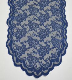 A personal favorite from my Etsy shop https://www.etsy.com/listing/398033905/new-navy-135-x-108-gorgeous-lace-table