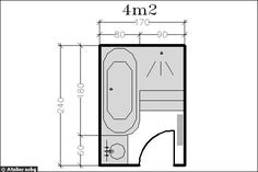Maison salle de bain on pinterest small bathrooms - Idee amenagement petite surface ...