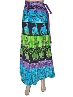 """Boho Wraparound Skirts Tie Dye Skirt Long Wrapskirts for Women 40"""" MI, http://www.amazon.com/dp/B00AF8585E/ref=cm_sw_r_pi_dp_CObUqb0T10ZAZ"""