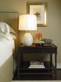 Chicago, Illinois Gold Coast Condominium  Bedroom  Vignette  Eclectic  Transitional by Vincere, Ltd