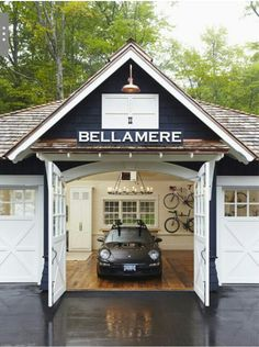 Amazing garage!