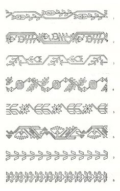 Symbols and ornamental motives in folk art of Moldova - Photo gallery Folk Embroidery, Embroidery Stitches, Embroidery Patterns, Geometric Wallpaper Texture, Tie Dye Crafts, Fashion Illustration Sketches, Sketch Design, Pattern Art, Folk Art