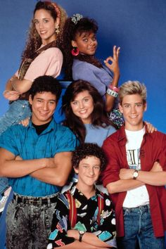 The original show was a massive success with the teen audience and also starred Elizabeth Berkley, Mario Lopez, Lark Voorhies and Tiffani Thiessen. Description from kenyacentral.com. I searched for this on bing.com/images