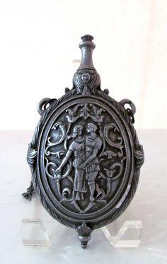 Vintage Pewter Flask