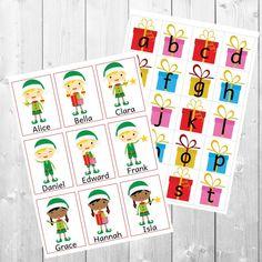 Christmas Playful Learning Pack 12 ACTIVITIES numbers | Etsy Toddler Learning Activities, Toddler Preschool, Play To Learn, Toddlers, Numbers, Packing, Holiday Decor, Handmade Gifts, Christmas