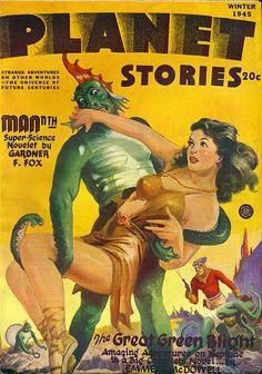 Harry Lemon Parkhurst / Planet Stories, Winter 1945