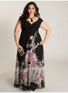 Plus Size Women Casual Long Dress Fashion Print Big Size Party Maxi Dress Female Vestidos Plus Size Black Dresses, Plus Size Summer Dresses, Plus Size Outfits, Long Dress Fashion, Fashion Dresses, Fashion Hats, Plus Size Bohemian Clothing, Size Clothing, Summer Dresses Sale