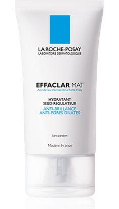 EFFACLAR MAT, un produit de la gamme Effaclar de La Roche-Posay recommandé pour Peaux grasses, à imperfections. Conseils d