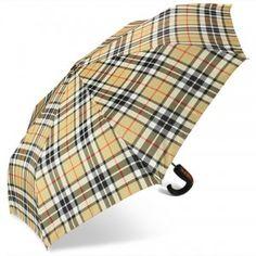 A plaid umbrella - a Winter must have!