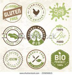 Natural Organic Labels and Badges
