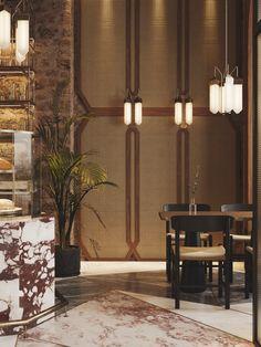 Sivak+Partners - Restaurant in Odessa Browns Restaurant, Classic Restaurant, Western Restaurant, Modern Restaurant, Restaurant Design, Restaurant Bar, Chinese Restaurant, Hotel Concept, Hall Interior