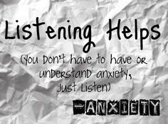 Please listen - I know it's not pleasant; maybe you've heard it before; but please - I need to feel connected to someone who cares - please...