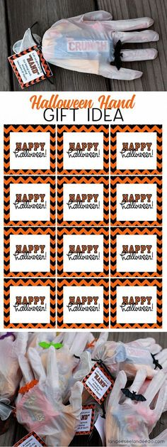 Halloween Printable Treat Tags Free printable, Halloween ideas - cute halloween gift ideas