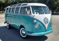 VW Bus my dream car>^> Volkswagen Transporter, Transporteur Volkswagen, Combi Hippie, Vw T1 Samba, Wolkswagen Van, Combi Ww, Vw Caravan, Combi Split, Vw Classic