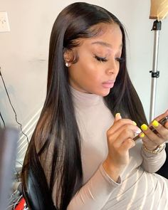 You Must Try this Silky and Smooth ISEE Straight Hair Wigs
