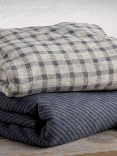 Fireside Cotton and Wool Blanket