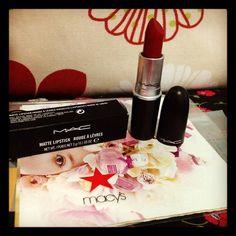Russian Red Lipstick ❤