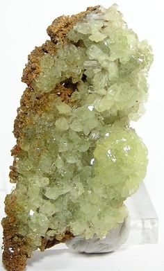 Amethyst - Adamite Botryoidal Crystals Rare Natural Mineral by FenderMinerals, Cool Rocks, Beautiful Rocks, Minerals And Gemstones, Rocks And Minerals, Dame Nature, Stones And Crystals, Gem Stones, Rock Collection, Mineral Stone