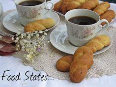 Κουλουράκια νηστίσιμα (αφράτα) - Food States Greek Desserts, Healthy Snacks, French Toast, Sweets, Cooking, Breakfast, Blog, Greece, Health Snacks