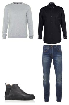 """3"" by nycmoo on Polyvore featuring Topman, Scotch & Soda, Y-3, Barneys New York, men's fashion и menswear"