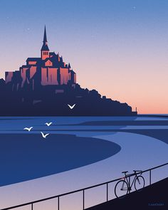 Douce France - Thomas Danthony Illustration