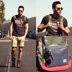 Macho Moda - Blog de Moda Masculina: Como usar Bota Masculina com Shorts ou Bermuda?