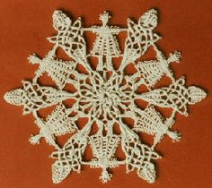 Margaretenspitze lace, made from macrame stitches. - Google Search