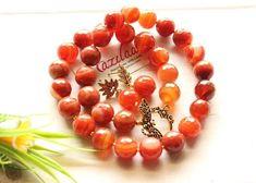 Agate Beads, Agate Gemstone, Gemstone Necklace, Necklace Set, Beaded Necklace, Mind Blown, Handicraft, Gemstones, Crystals